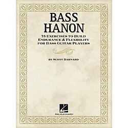 Hal Leonard Bass Hanon - 75 Exercises to Build Endurance and Flexibility for Bass Guitar Players (696661)