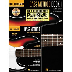 Hal Leonard Bass Method Beginner's Pack (Book/CD/DVD) (695893)