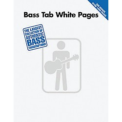 Hal Leonard Bass Tab White Pages Songbook (690508)