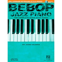 Hal Leonard Bebop Jazz Piano Hal Leonard Keyboard Styles Series Book/CD (290535)