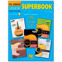 Hal Leonard Beginning Guitar Superbook (Book and CD Package) (697229)