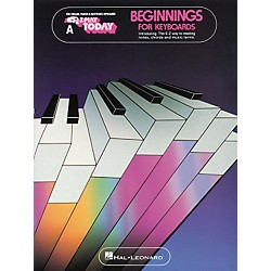 Hal Leonard Beginnings For Keyboards Book A EZ Play Songbook (100320)