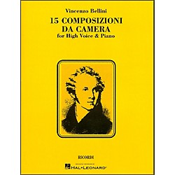 Hal Leonard Bellini - 15 Composizioni Da Camera For High Voice (740064)