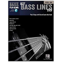 Hal Leonard Best Bass Lines Ever - Bass Play-Along Volume 46 Book/CD (103359)