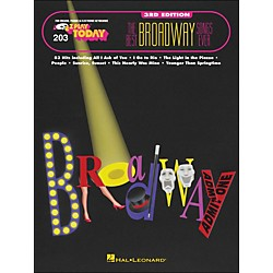 Hal Leonard Best Broadway Songs Ever 3rd Edition E-Z play 203 (101541)