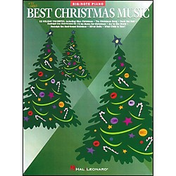 Hal Leonard Best Christmas Music For Big Note Piano (310325)