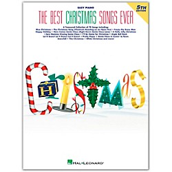 Hal Leonard Best Christmas Songs Ever 4th Edition For Easy Piano (364130)
