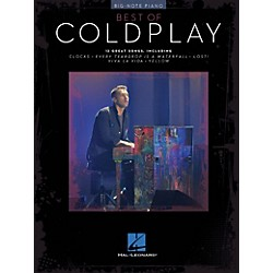 Hal Leonard Best Of Coldplay For Big-Note Piano (309309)