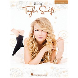 Hal Leonard Best Of Taylor Swift Big Note Piano (307143)