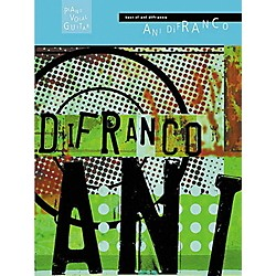 Hal Leonard Best of Ani DiFranco Piano, Vocal, Guitar Songbook (306327)