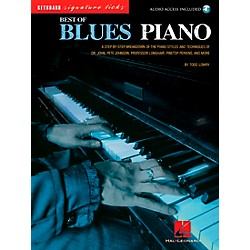 Hal Leonard Best of Blues Piano Signature Licks Songbook with CD (695841)