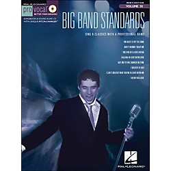 Hal Leonard Big Band Standards - Pro Vocal Songbook & CD For Male Singers Volume 50 (740406)
