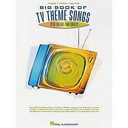 Hal Leonard Big Book of TV Theme Songs Piano, Vocal, Guitar Songbook (310504)