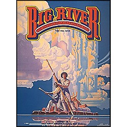 Hal Leonard Big River - The Adventures Of Huckleberry Finn arranged for piano, vocal, and guitar (P/V/G) (359270)