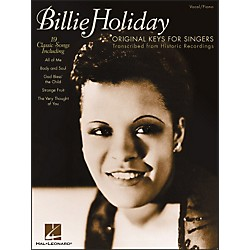 Hal Leonard Billie Holiday - Original Keys For Singers (740140)