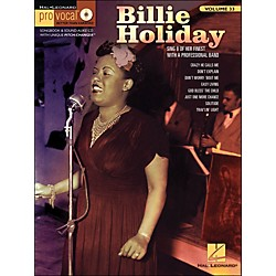 Hal Leonard Billie Holiday Pro Vocal Songbook & CD For Female Singers Volume 33 (740388)
