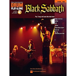 Hal Leonard Black Sabbath - Drum Play-Along Volume 22 Book/CD (701190)