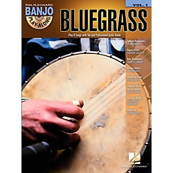 Hal Leonard Bluegrass Banjo Play-Along Volume 1 Book/CD (102585)
