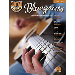 Hal Leonard Bluegrass Guitar Play-Along Volume 77 Songbook/CD (699910)
