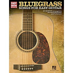 Hal Leonard Bluegrass Songs For Easy Guitar (With Tab) (702394)