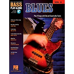 Hal Leonard Blues - Bass Play-Along Series Volume 9 Book and CD (699817)