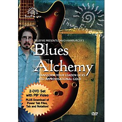 Hal Leonard Blues Alchemy - Instructional Guitar 2-DVD Pack Featuring David Hamburger (320848)