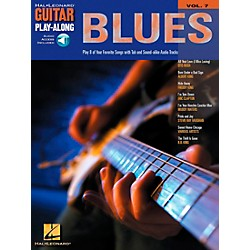 Hal Leonard Blues Guitar Play-Along Series Volume 7 Book with CD (699575)