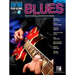 Hal Leonard Blues Guitar Play-Along Volume 38 Book with CD (699663)