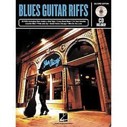 Hal Leonard Blues Guitar Riffs - 2nd Edition (Book/CD) (699342)