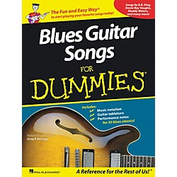 Hal Leonard Blues Guitar Songs for Dummies Guitar Tab Songbook (699925)