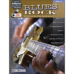 Hal Leonard Blues Rock - Boss eBand Guitar Play-Along Volume 4 (701642)