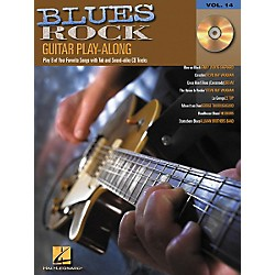 Hal Leonard Blues Rock Guitar Play-Along Series Book with CD (699582)