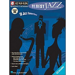 Hal Leonard Bluesy Jazz Volume 35 Book/CD Jazz Play Along (843031)