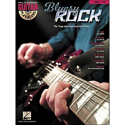 Hal Leonard Bluesy Rock - Guitar Play-Along Volume 73 (Book/CD) (699829)