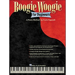 Hal Leonard Boogie Woogie For Beginners - A Piano Method By Frank Paparelli (120517)