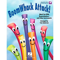 Hal Leonard BoomWhack Attack! Music Fun With Boomwhackers and Other Instruments Book/CD (9971000)