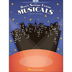 Hal Leonard Boy's Songs From Musicals Book/CD (1127)