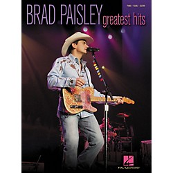 Hal Leonard Brad Paisley - Greatest Hits Piano, Vocal, Guitar Songbook (306758)