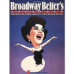 Hal Leonard Broadway Belter's Songbook Vocal Book (311608)