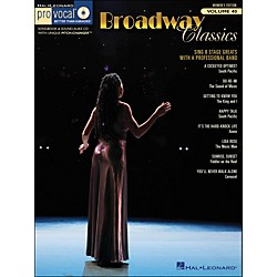 Hal Leonard Broadway Classics - Pro Vocal Songbook & CD For Female Singers Volume 40 (740410)