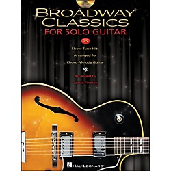 Hal Leonard Broadway Classics For Solo Jazz Guitar (Book/CD) (700173)