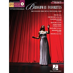 Hal Leonard Broadway Favorites - Pro Vocal Songbook For Female Singers Volume 41 Book/CD (740415)