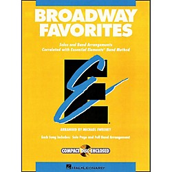 Hal Leonard Broadway Favorites Bass Clarinet Essential Elements Band (860040)