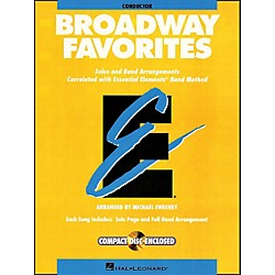 Hal Leonard Broadway Favorites Conductor Essential Elements Band Conductor Book/CD (860034)