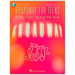 Hal Leonard Broadway For Teens - Young Women's Edition Book/CD (402)