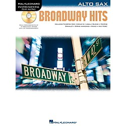 Hal Leonard Broadway Hits For Alto Sax - Instrumental Play-Along Book/CD (842556)
