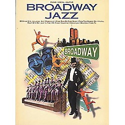 Hal Leonard Broadway Jazz Piano, Vocal, Guitar Songbook (311569)