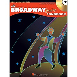 Hal Leonard Broadway Junior Songbook - Young Men's Edition Book/CD (740328)