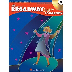Hal Leonard Broadway Junior Songbook - Young Women's Editon Book/CD (740327)