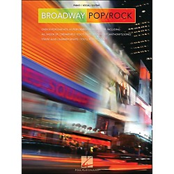 Hal Leonard Broadway Pop/Rock arranged for piano, vocal, and guitar (P/V/G) (311418)